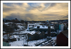 Ouseburn Valley snow scene - 350/365 photo by Paul J White
