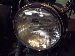New headlight installed