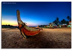 Kovalam Beach Blue photo by DanielKHC