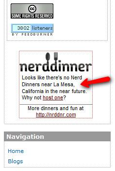 Nerd Dinner - Flair