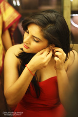 Trying on some Jewelleries | Ramya@Bangalore photo by get2shaan