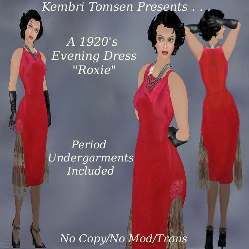 Formal Evening Gowns 1920's flapper dresses at Dress the art of