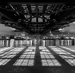 Hawthorne Bridge, study 1 photo by Zeb Andrews