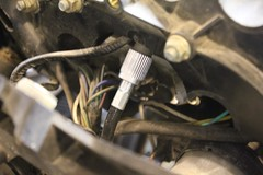 Raplacing Speedometer Cable on BMW R1150GS