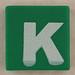 counterfeit Lego letter K