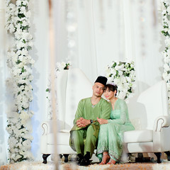 H&K: Hunny Madu & Khairul Azhar Wahid Wedding Reception photo by to ang, with love