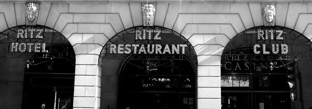 The Ritz, signage
