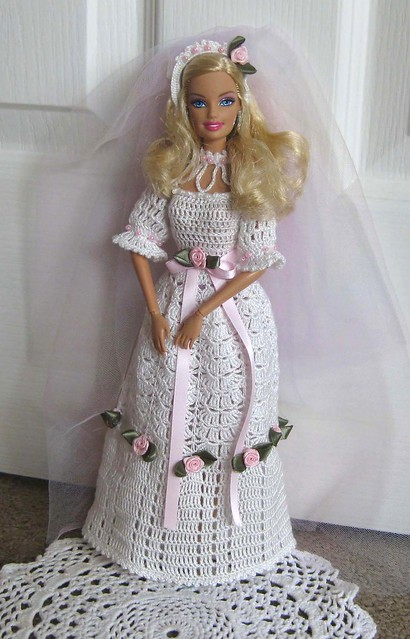 Free Barbie Gown Patterns - Doll house