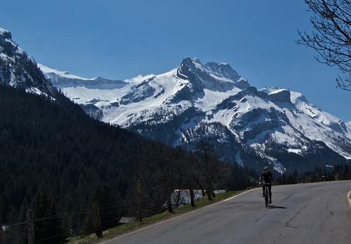 Descending Col du Pillon