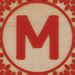 Block Letter M