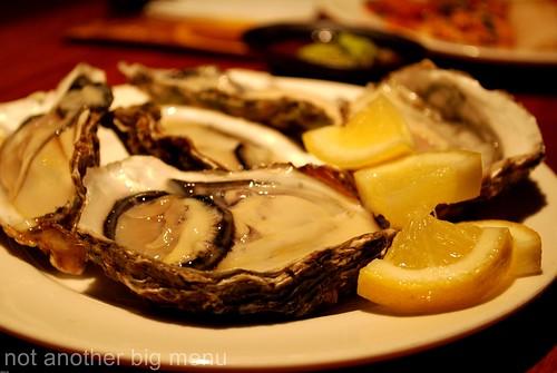 Jogoya, KL - Oysters