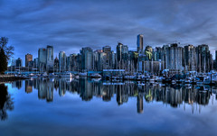 Vancouver Reflected photo by Brandon Godfrey
