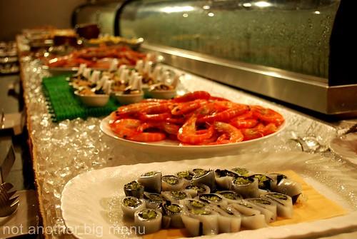 Jogoya, KL - Seafood counter