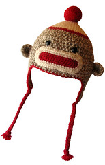 "Flying Sock Monkey Hat, ""I'll get you my little pretty!"" photo by sock monkey kook"