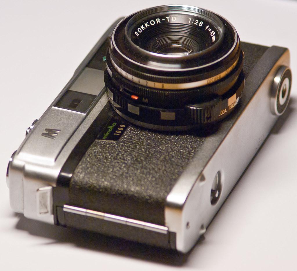 Minolta A5 rangefinder camera | 3