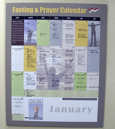 Fasting Poster 2010 - Week 3