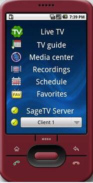 taSageTV Android App