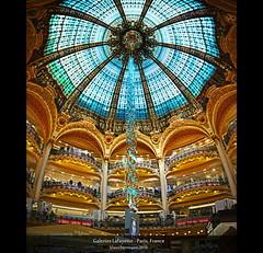 Galeries Lafayette - Paris, France (Vertorama) photo by farbspiel