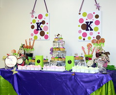 Monogram Baby Shower photo by Enchanted Expectations