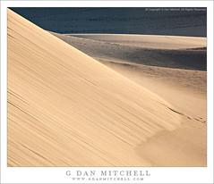 Sand Patterns, Death Valley Dunes photo by G Dan Mitchell