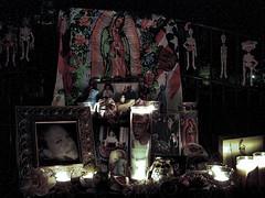 Day of the Dead Night Shrine photo by Walker Dukes