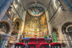 Altarpiece – Retablo, Catedral Vieja, Salamanca (Spain), HDR 2 photo by marcp_dmoz