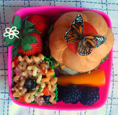 Monarch Butterfly Bento #48 photo by Laura Bento
