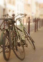 Bicycles in love photo by Kaeru Sand