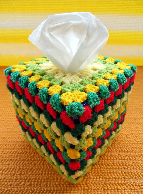 Stitch Of Love Free Pattern Crochet Catherine Wheel Tissue Box Cover : FREE TISSUE BOX CROCHET PATTERN - Crochet ? Learn How to ...