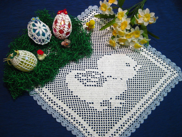 Easter Egg & Chick, Free Crocheting Projects