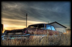 """old rusty car """"Ford Fairlane 500"""" photo by Jesus Arellano"""