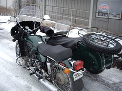 Ural back from the dealer