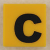 counterfeit Lego letter C