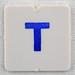 hangman tile blue letter T