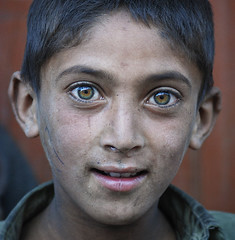 Face from Asia - Pakistan - Baltistan photo by galibert olivier