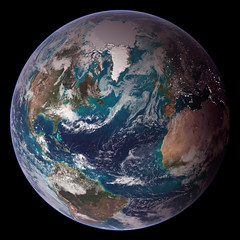 NASA Blue Marble 2007 West photo by NASA Goddard Photo and Video