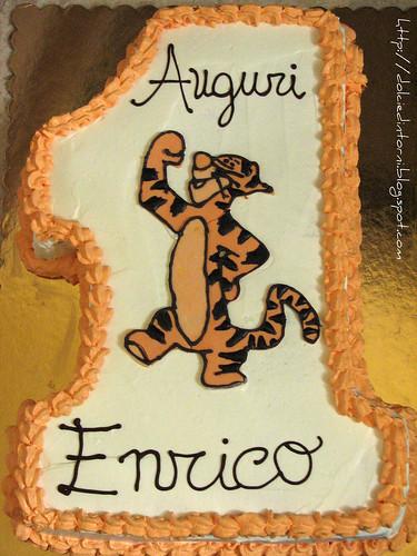 Torta Tigro (1° compleanno Enrico)