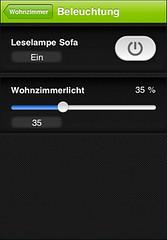 iPhone Lichtsteuerung