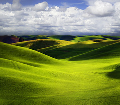 Storm A Brewing Over The Palouse photo by kevin mcneal