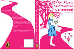 Alice's adventures in Wonderland 1 Book cover photo by Ellie Ellis