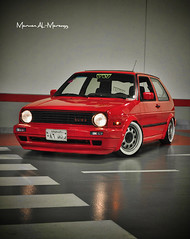 Golf MK2 - VW - Old skool - GTI photo by Marwan AL-Marzugy
