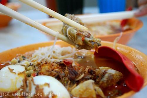 M'sian takeaway or eating in - Prawn noodles