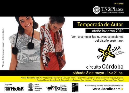 Por la calle - Circuitos de diseño Córdoba
