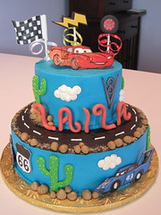 Cars Cake photo by jlmooraj