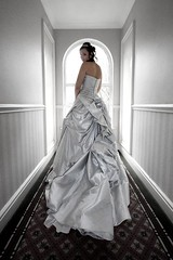 Emily's Wedding Dress photo by Brian Tomlinson