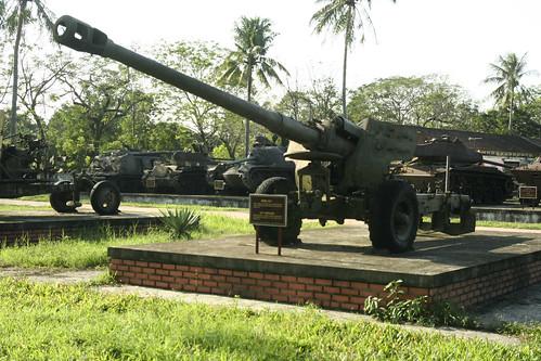 博物馆的坦克