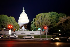 U.S. Capitol on Election Night