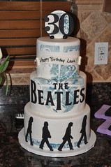 Beatles Cake photo by Designer Cakes By April