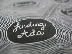 finding Ada doodle {close up}