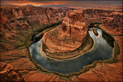 horseshoe bend - page arizona photo by Dan Anderson.